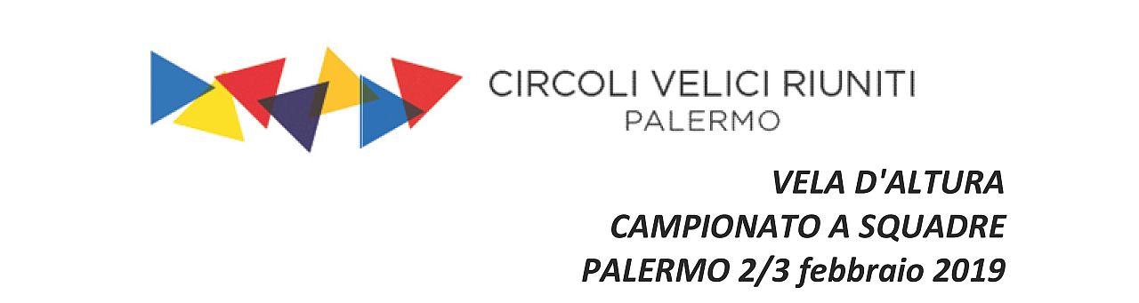 VELA D'ALTURA CAMPIONATO A SQUADRE PALERMO 2/3 febbraio 2019