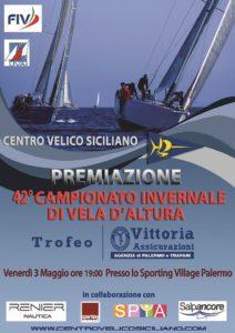 42° Campionato Invernale 2019 – premiazione allo Sporting Village di Palermo