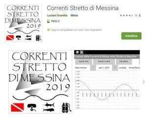 App x Android sulle Correnti dello Stretto di Messina