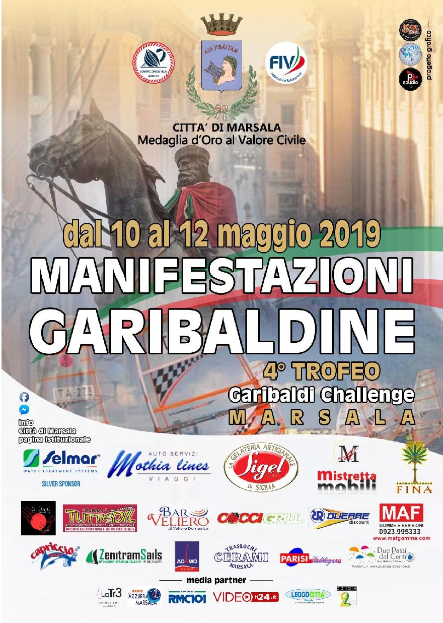 4° Trofeo Garibaldi Challenge Marsala 2019 – veleggiata