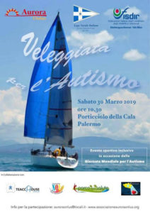 Veleggiata per l'autismo 2019 organizzata dalla sezione Palermo Centro della Lega Navale Italiana